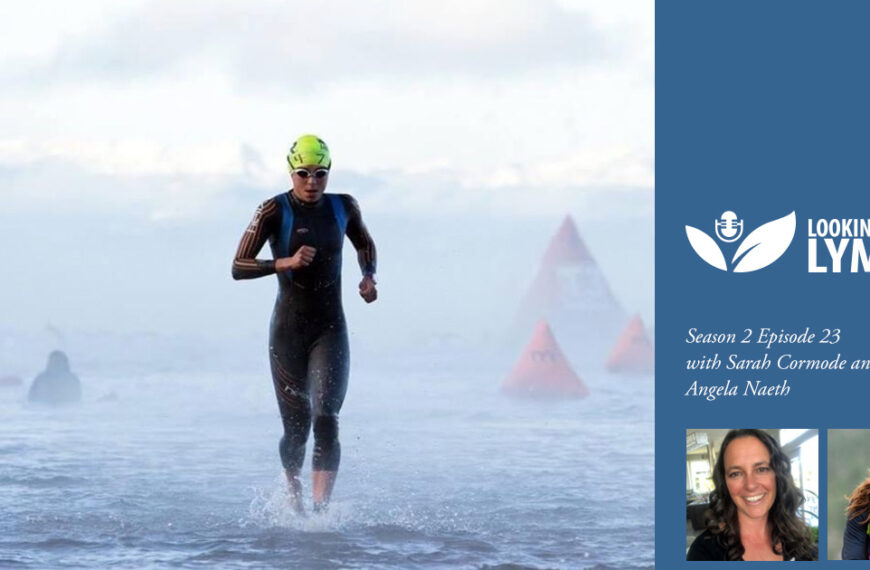 23. Angela Naeth tells us about life as a triathlete with Lyme disease