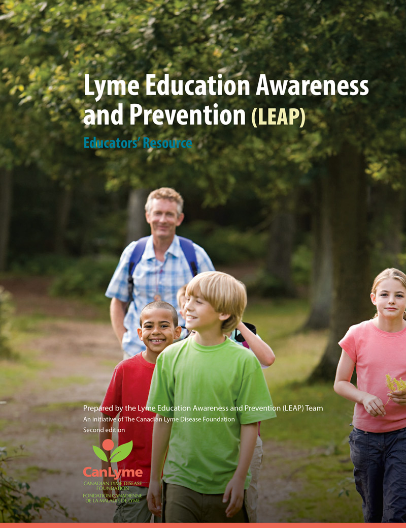 Second edition, Educators' Resource by Lyme Education Awareness and Prevention team (LEAP), 2021.