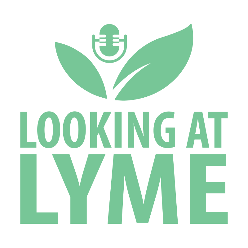 Looking at Lyme podcast logo.